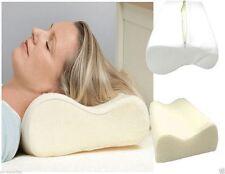 Ortopedico Memory Foam Contorno Cuscino ferma Testa Collo Sostegno Posteriore Copertura libera