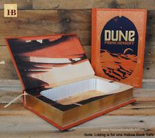 Hollow Book Safe - Dune - Leather Bound Book Safe