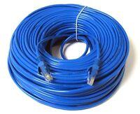 30ft 10M CAT6 Kabel Ethernet Lan Netzwerk CAT 6 RJ45 Patch Internet Blau Neu DE