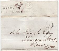 # 1826 DALKEITH PPO UNPAID & H/S 2 DAVID PARK ILLUS BILLHEAD >JOHN PRINGLE EDINB