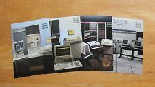 DEC DECUS NOPSIG PDP-7, -8, -11 and VAX 11/780 poster reprint set (12.6x18.1cm)