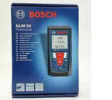 BOSCH GLM50 50 METRE 165FT LASER DISTANCE MEASURE KIT - RANGE FINDER WITH POUCH