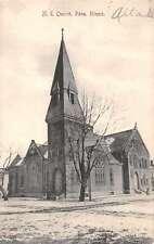 Pana Illinois Methodist Church Antique Postcard J48391