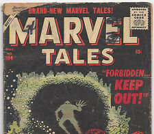 Marvel Tales #156 How High is High from Mar. 1957 in Good+ Condition