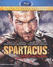 Blu-ray Box Cofanetto SPARTACUS ♦ SANGUE E SABBIA ♦ PRIMA STAGIONE 1 nuovo 2010