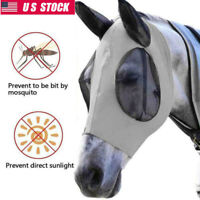 Professional's Choice Comfort Fit Horse & Arab Sizes Lycra Fly Mask with Ears US