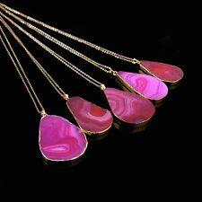 1PC Women Jewelry Pendant Chain Crystal Choker Chunky Statement Bib Necklace