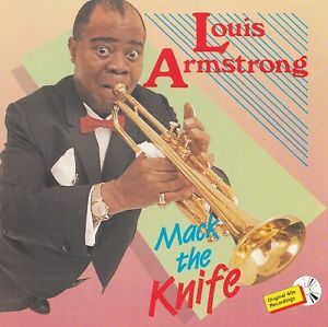 LOUIS ARMSTRONG : MACK THE KNIFE / CD - TOP-ZUSTAND