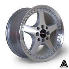 "4 x White label Pro R 15"" x 7"" et35 4x100 alloys fit VW Golf Mk1 Mk2 MX5 Honda"