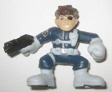 Nick Fury Classic Comic Version Superhero Squad Figure Hasbro Marvel SHIELD