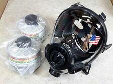 Sge 400/3 Gas Mask w/2x Hi-End 40mm Nato Nbc/Cbrn Filters Premium Protection New