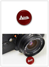 For Leica Soft Release Button Red Camera Accessories
