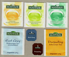 MAYFAIR GERMANY TEA BAG ENVELOPES TAGS COLLECTION 435