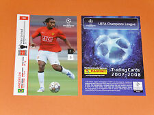 ANDERSON MANCHESTER UNITED FOOTBALL CARDS PANINI CHAMPIONS LEAGUE 2007-2008