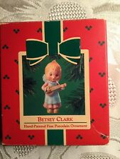 Hallmark Keepsake Ornament Betsey Clark Mandolin Hand Painted Porcelain 1984