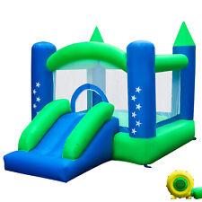 Inflatable Bounce House Castle Kids Fun Jumper Slide Moonwalk Bouncer w/Blower