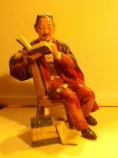 Royal Doulton The Professor Hn 2281 Mint Condition Figurine England 7.5�
