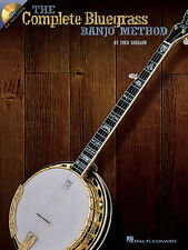 The Complete Bluegrass Banjo Method Music Book CD Learn