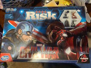 Risk Marvel Avengers Civil War Strategy Board Game Captain America Iron Man