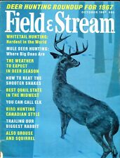 Vintage Field & Stream October 1967 Cover Artist Don Stivers