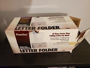 Martin Yale Desktop Letter Folder P6200 Premier Folder 6200 TESTED & WORKS