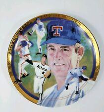 Sports Impressions Nolan Ryan Plate The Hamilton Collection #1512H 1993 (883)