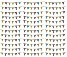 Décorations de fête guirlandes multicolore pour la maison toutes occasions