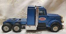 Vintage Tootsie Toy Truck Peterbilt Cab Blue Made in USA 1980