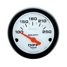 Auto Meter 5749 Differential Temperature Gauge 2 116 100 250 Degrees Electri