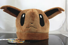 New Nintendo Pokemon Eevee Evoli Plush Hat Great Gift Cosplay