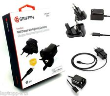 Griffin Power block Wall Charger Lightining Cable For iPhone 7 Plus 7 5S 5 5C