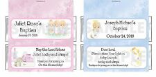 Personalized PRECIOUS MOMENTS Religious Baptism Bautizo candy bar wrappers favor