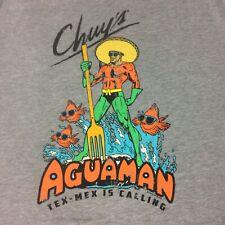Chuys Tex Mex T Shirt Aguaman Size XL Tex Mex is Calling Ships Free