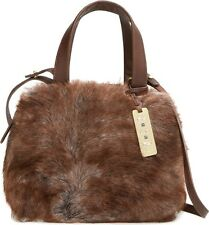 UGG Bag Vilet Toscana Sheep Shearling Satchel Crossbody Pinecone NEW $275