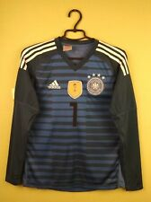 Germany jersey 2018 Goalkeeper adidas football size Kids 13 - 14 Years