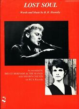 BRUCE HORNSBY & THE RANGE SHAWN COLVIN LOST SOUL SHEET MUSIC PIANO/VOCAL/GUITAR