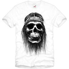 Harley Biker t-shirt Chopper Skull calavera tatuaje nuevo