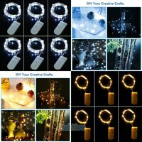 18 Packs 10ft. 30 LEDs Battery Operated Mini LED Copper Wire String Fairy Lights