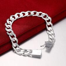 Silber Plated Schmuck Herren / Damen Armband Schmuck Stulpe Charme Armband