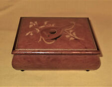 VINTAGE SWISS REUGE MUSIC BOX ITALIAN INLAY MUSICAL PLAYS