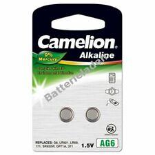 Camelion Knopfzelle AG6 2er Blister 1,5V  Alkaline