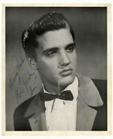 ELVIS PRESLEY AUTOGRAPHED YOUNG KING OF ROLL & ROLL 8X10 PHOTO POSTER PICTURE
