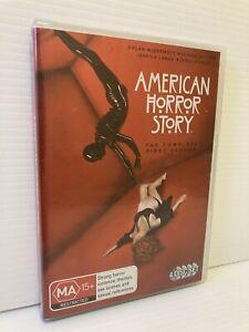 American Horror Story Complete First Season 1 DVD 4 disc set Region 4 LIKE NEW