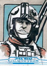 Star Wars Galactic Files Reborn Sketch Card Jim Mehsling