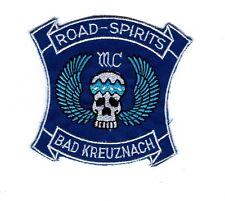Aufnäher Patches MC Motorrad Club Road Spirits Bad Kreuznach
