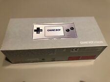 Nintendo Game Boy micro silver New NIB Handheld System