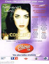 PUBLICITE ADVERTISING 085  2003  NOLWENN LEROY  en concert avec RADIO CHERIE FM