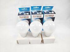 X3 800 Lumen LED 60w Light Bulb, Day Light 10w LED 3 Lights Bulb 6500k Home Ligh