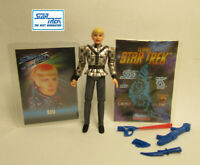 1993  Playmates Star Trek Next Generation Sela Complete Action Figure