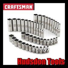Craftsman 1/4 Dr Laser Etched Socket Set STD/Deep 6pt SAE & Metric